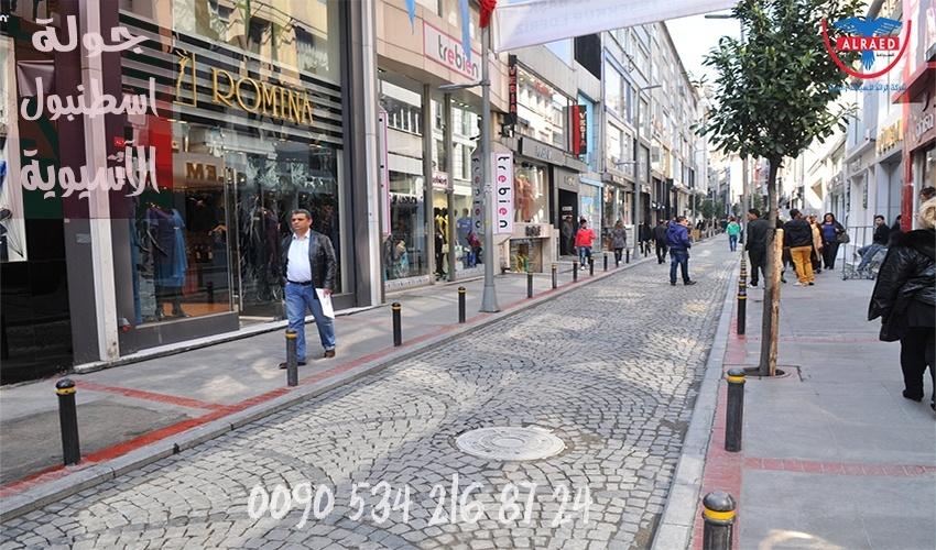 شارع بغداد اسطنبول الآسيوية سيارة مع سائق
