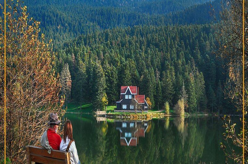 جولة بحيرة ابانت تركيا