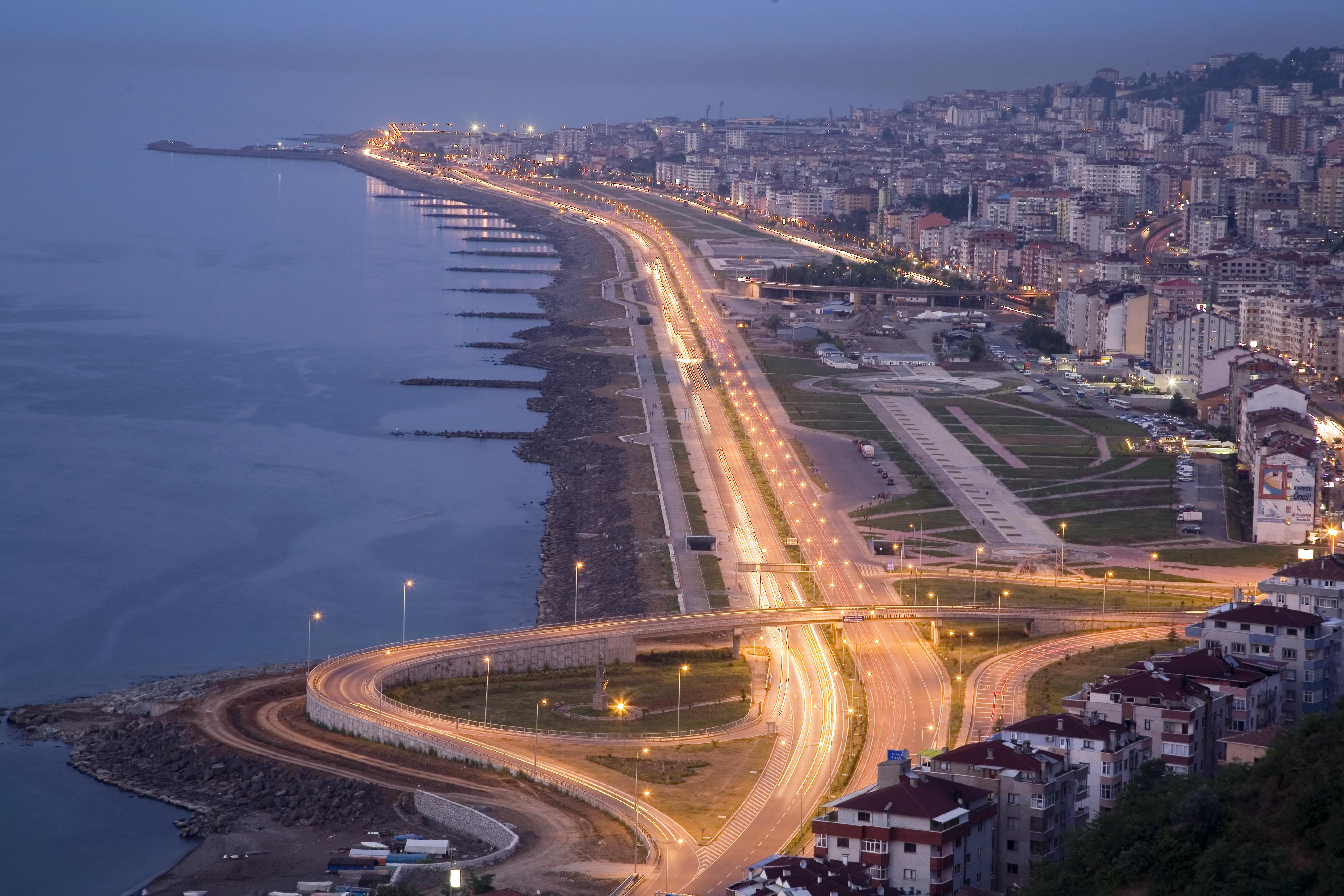 جولة مدينة طرابزون Trabzonسيارة مع سواق خاص