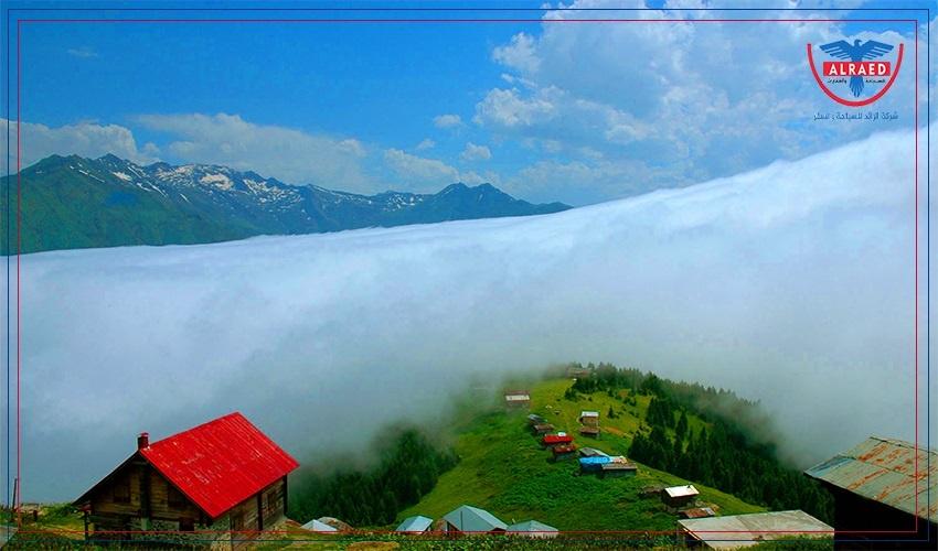 مرتفعات بوكوت وصال سيارة مع سائق في طرابزون والشمال التركي
