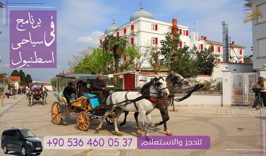 رحلة جزيرة الأميرات من اسطنبول