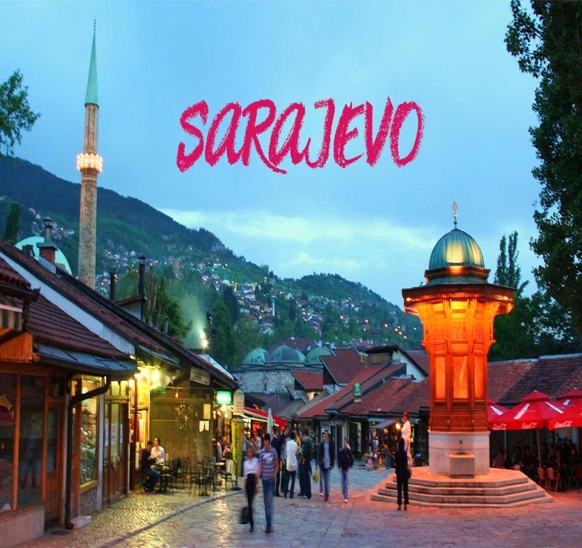سراييفو السياحة في البوسنة